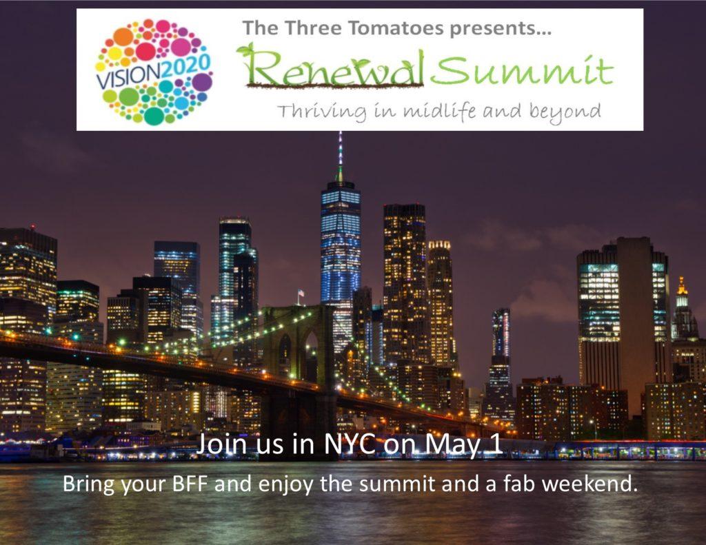 The Three Tomatoes Renewal Summit