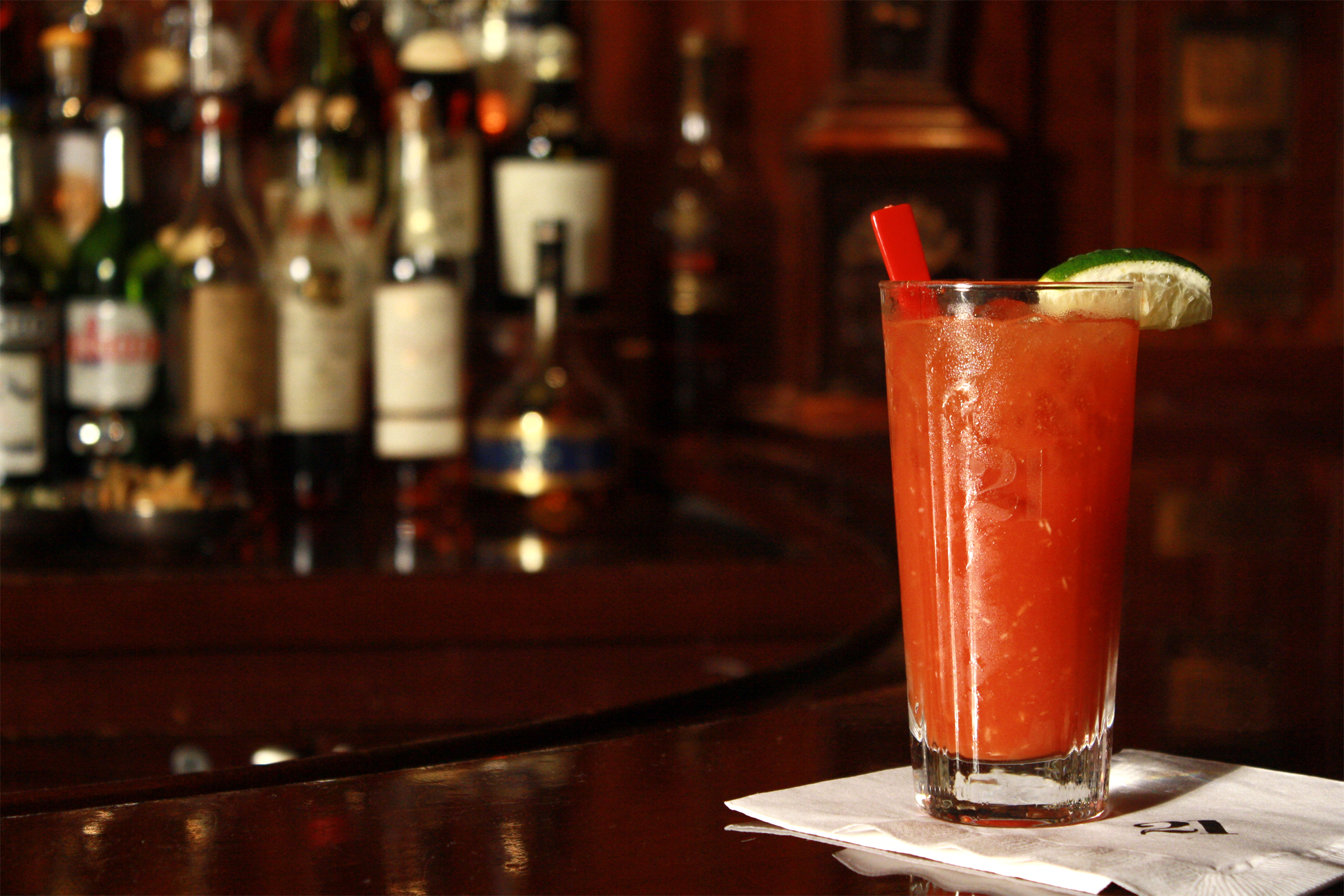 21 Club, bloody mary, the three tomatoes
