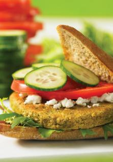 Healthy Cooking, healthy burger, chickpea, the three tomatoes