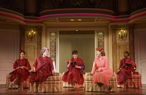 it shoulda been you, broadway reviews, tyne daly, david hyde pierce, valerie smaldone, the three tomatoes