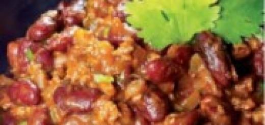 chili, president, chef Roble, recipe, the Three Tomatoes