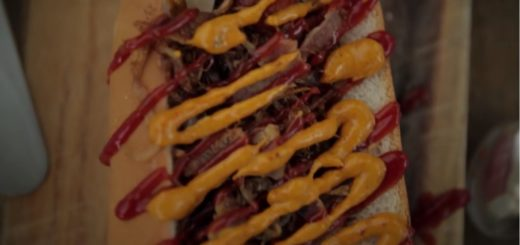 Video: Hot Dogs: It's all about the toppings! , hot dog, toppings, jamie oliver, the three tomatoes