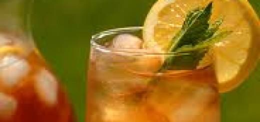 rum, iced tea, the three tomatoes