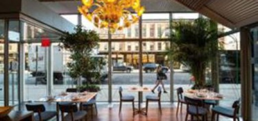 santina restaurant, high line park, gansevort street, gael greene review, the three tomatoes