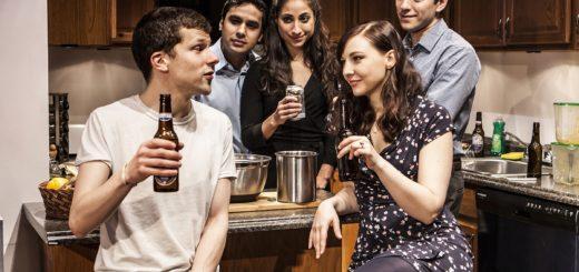 cast The Spoils, Jesse Eisenberg, broadway reviews, valerie smaldone, the three tomatoes