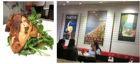 trattoria bianca, penn station, gael greene retaurant reviews, the three tomatoes