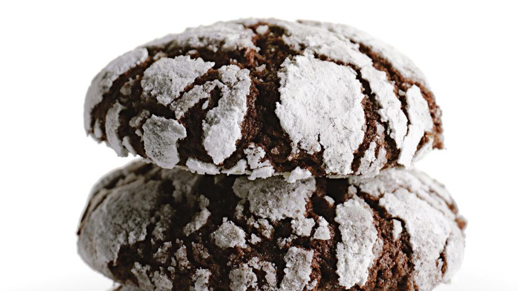 hot chocolate earthquake cookies