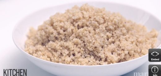 secret to fluffy quinoa, cooking, video, kitchen conundrum, The Three Tomatoes