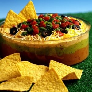 seven-layer dip, arthur schwartz, the three tomatoes