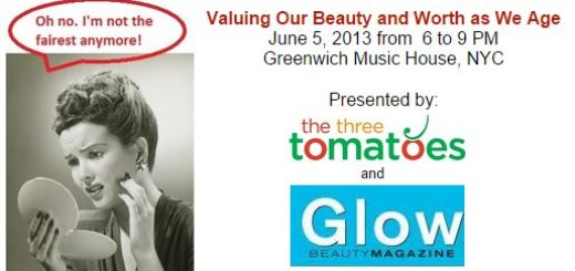 value and beauty and worth, the three tomatoes, glow magazine, greenwich musich house