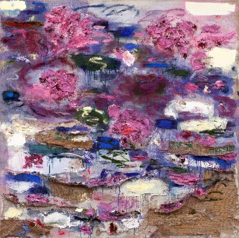 burlap & silk, JOAN SNYDER: Sub Rosa, bascove, art galleries nyc, the three tomatoes
