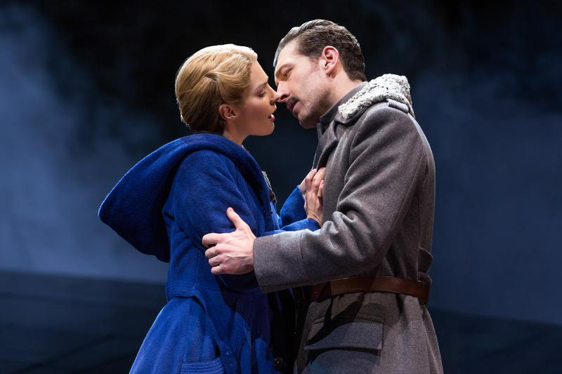 doctor zhivago, broadway reviews, valeire smaldone, the three tomatoes