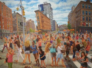 John A. Parks: In New York, girls