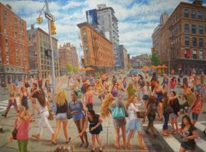 John A. Parks: In New York, girls