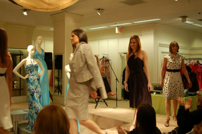 lord & taylor private event, fashion show, the three tonatoes