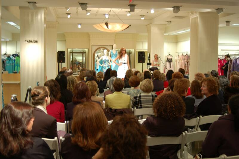 lord & taylor private event, fashion show, the three tomatoes