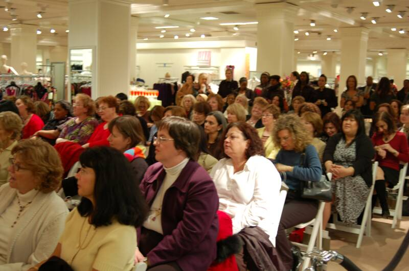 Lord & Taylor Private Event, the three tomatoes, fashion show