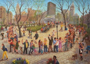 John A. Parks: In New York