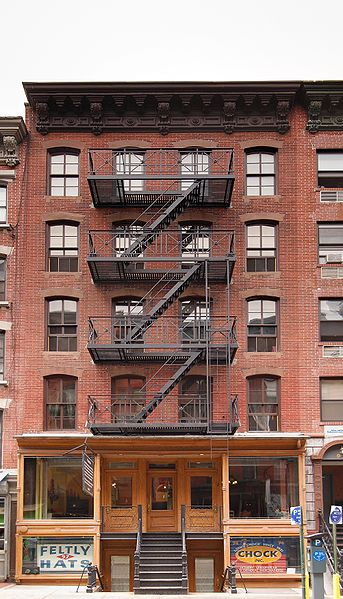Exploring the Lower East Side's Somber Past, orchid street nyc, nyc architecture, the three tomatoes