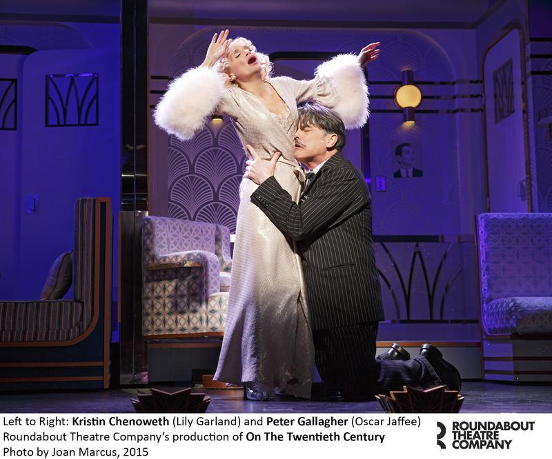 On the Twentieth Century, Kristin Chenoweth, Roundabout, Broadway reviews, Valerie Smaldone, The Three Tomatoes