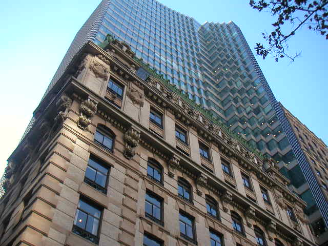 HSBC tower NYC, architecture nyc, the three tomatoes
