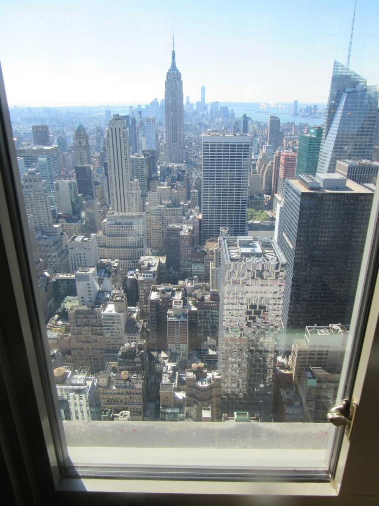 Brunch Decadence at the Rainbow Room, view from the rainbow room, gael greene reviews, the three tomatoes