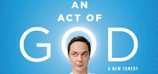 An Act of God, Jim Parsons, Broadway Reviews, Valerie Smaldone, The Three Tomatoes