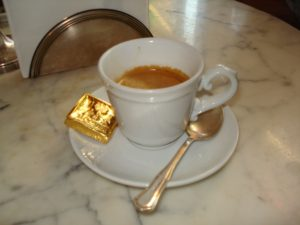 Italian coffee and chocolate, francine segan, thr three tomatoes