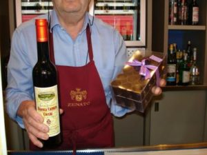 chocolate and wine, italian wines, francine segan, the three tomatoes
