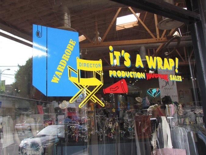 It's a Wrap, LA Shopping, Resale shops, LA Life, Debbie Zipp, The Three Tomatoes