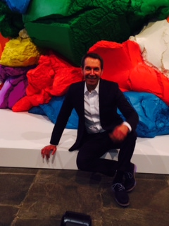 Saying Goodbye with Popeye, Balloon Dog, Play Doh and More, jeff koons play doh, whitney museum, val castrona, the three tomatoes
