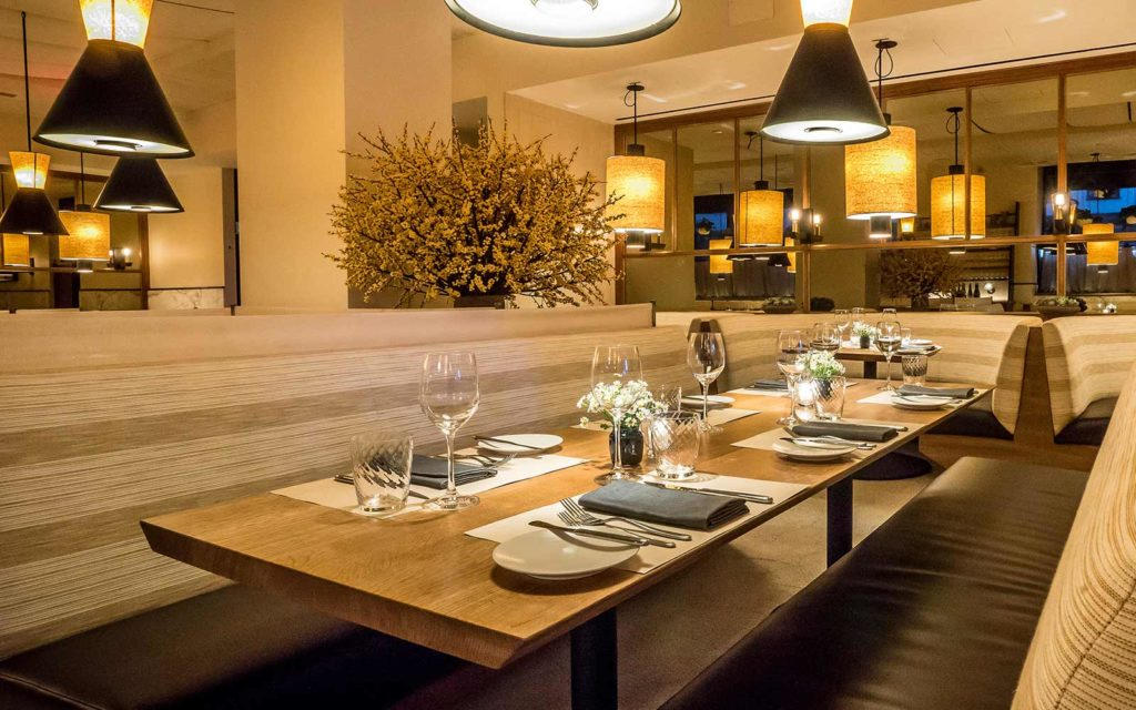 little park restaurant, NOHO, gael greene review, the three tomatoes