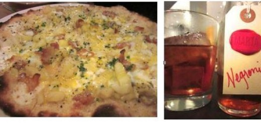 marta, best pizza, negroni, gael greene restaurant reviews, the three tomatoes