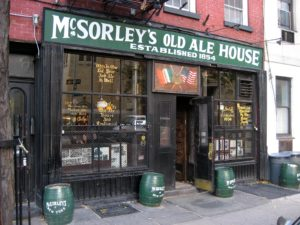 A Tour of Ireland in NYC, mcsorleys ale house nyc, the three tomatoes