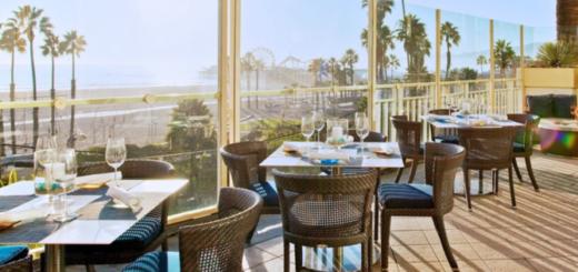 Ocean and Vine restaurant LA, the three tomatoes
