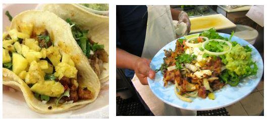 taqueria y fonda, best tacos nyc, gael greene reviews, the three tomatoes