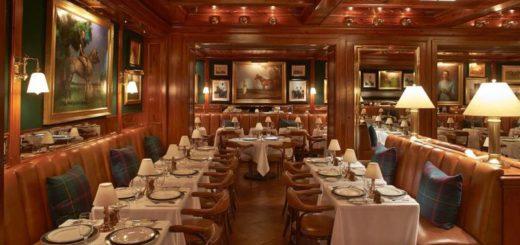 the polo bar, ralph lauren, gael greene restaurant review, the three tomatoes