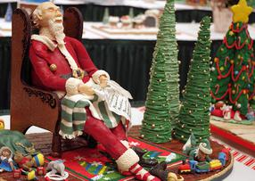 omni grove park inn, gingerbread competition, driving diva, gerry davis, the three tomatoes
