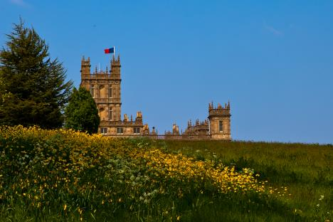Visiting Highclere Castle (aka Downton Abbey), Deb and David White, The Three Tomatoes