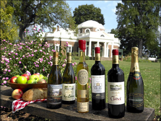 Barboursville Vineyards, the driving diva, gerry davis, the three tomatoes