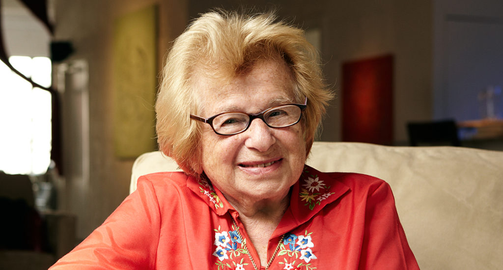 Dr. Ruth's secrets to vitality