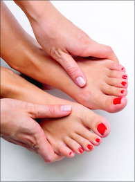 foot problems, the three tomatoes