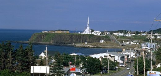 gaspe peninsula, travel, the three tomatoes