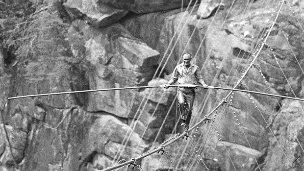 Tallulah Gorge, Karl Wallenda, driving diva, gerry davis, the three tomatoes