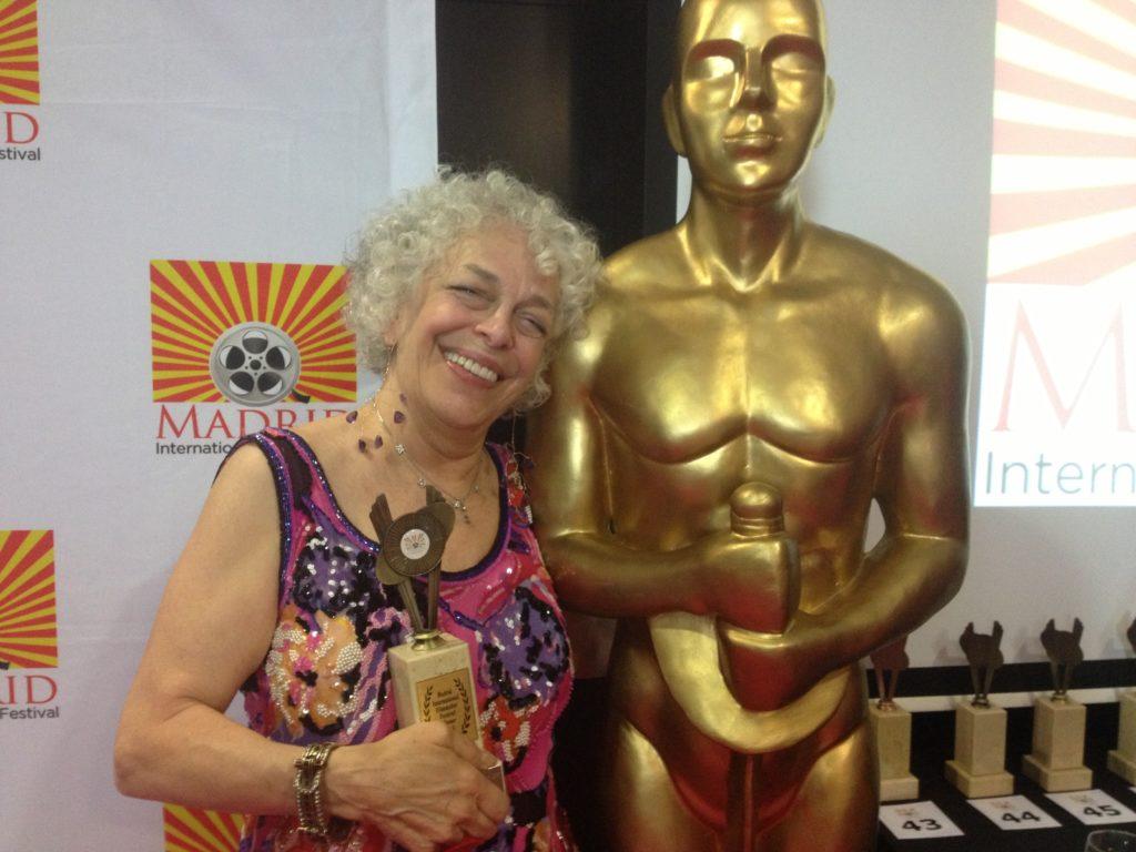 Marilyn Sokol wins big in Madrid, the three tomatoes