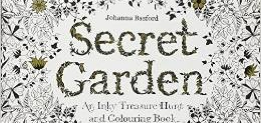secret garden, coloring books, the three tomatoes