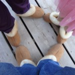 slippers, fashion resolutions, scarlette de bease, the three tomatoes