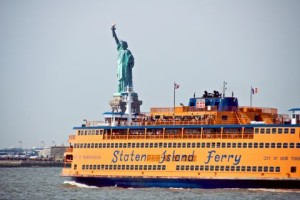 5 things to do in NYC this summer, the staten island ferry, the three tomatoes