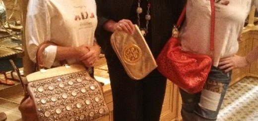Tory Burch Store, debbie zipp, cheryl benton, roni jenkins, the three tomatoes