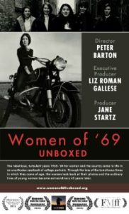 NYC Film Event: Dec. 6.  The Women of '69 UNBOXED.